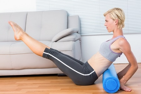 foam rollers exercise equipment
