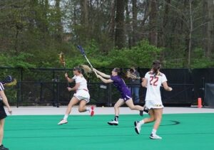 the Use of the Lacrosse Stick