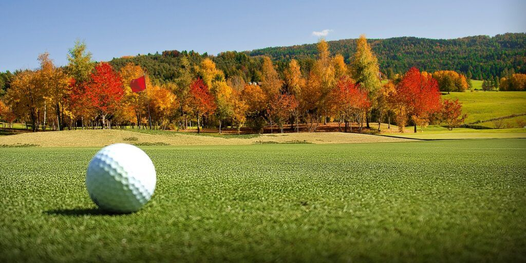 What is the ideal dimple count on golf balls for seniors