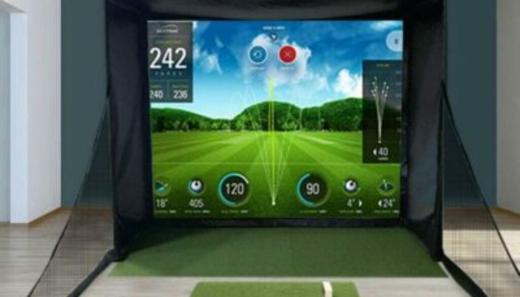 SkyTrak SwingBay Golf Simulator Package