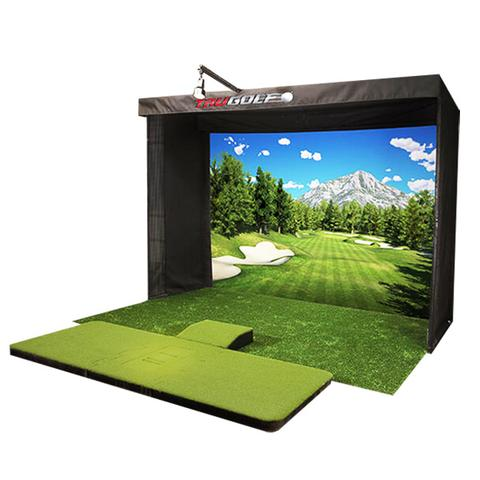 TruGolf Vista 12 Golf Simulator w E6 Connect