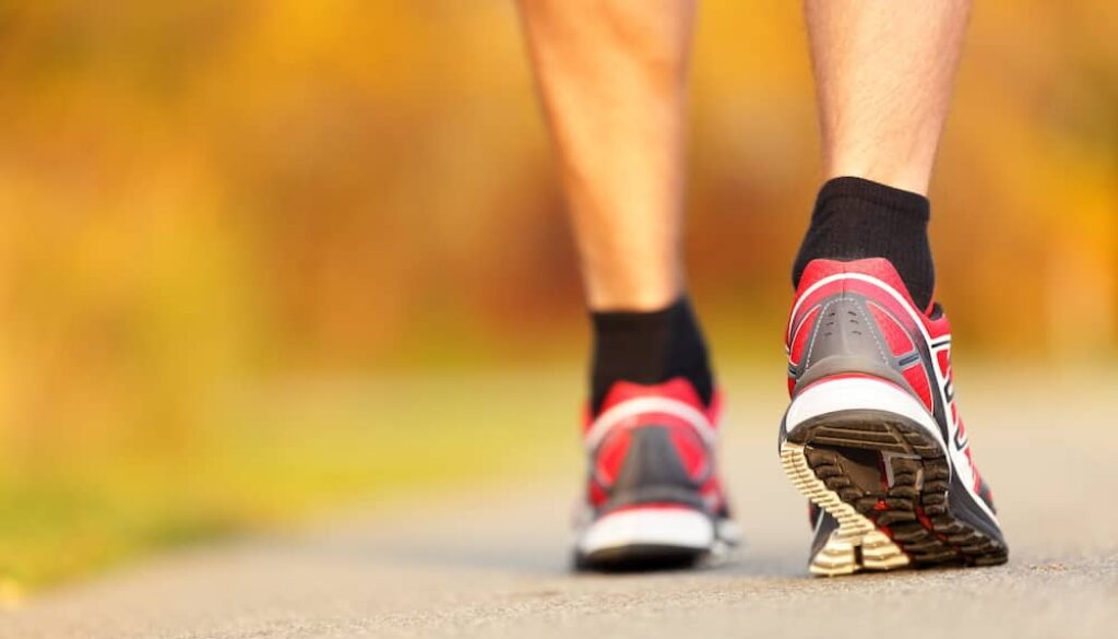 tips to transition from walking boot to normal shoe