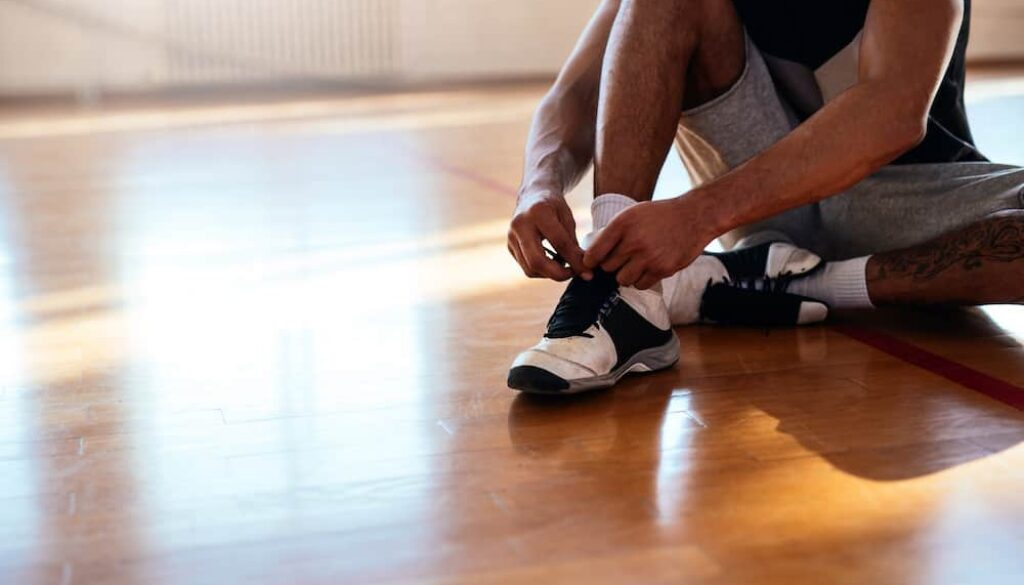are basketball shoes good for running