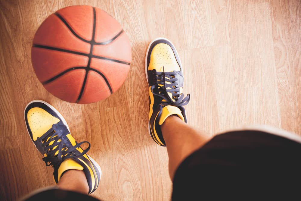 are basketball shoes good for running facts