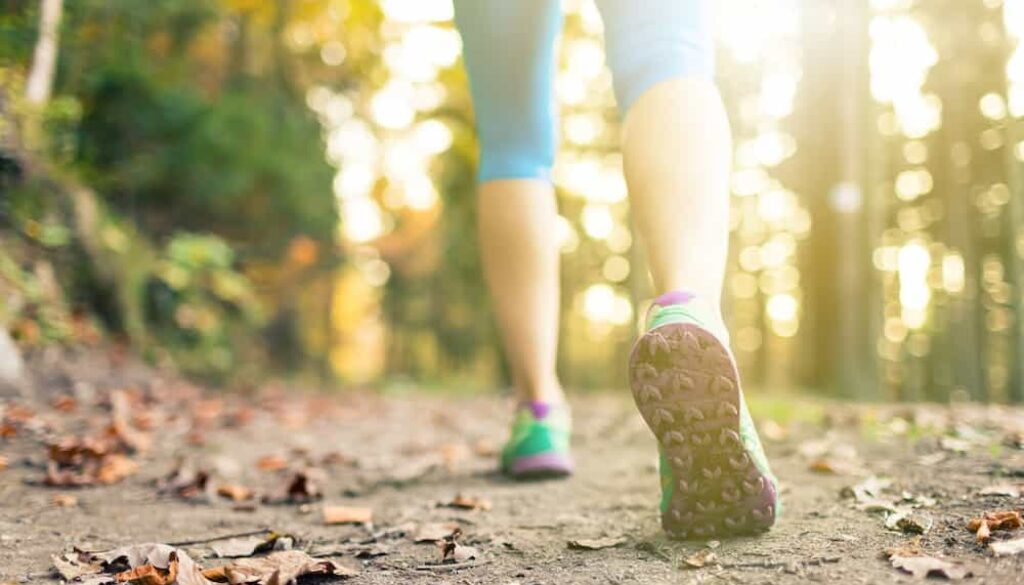 are training shoes good for walking